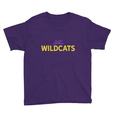 Altha Wildcats Youth Tee (multiple colors available)