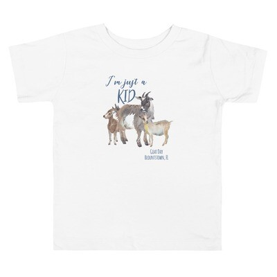 Kid Goat Day Toddler Tee (multiple colors available)
