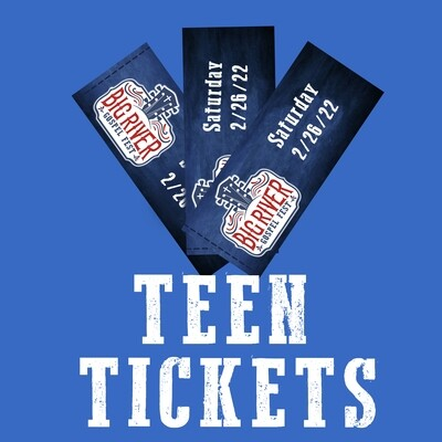 BRGF Teen Tickets (ages 13-17)