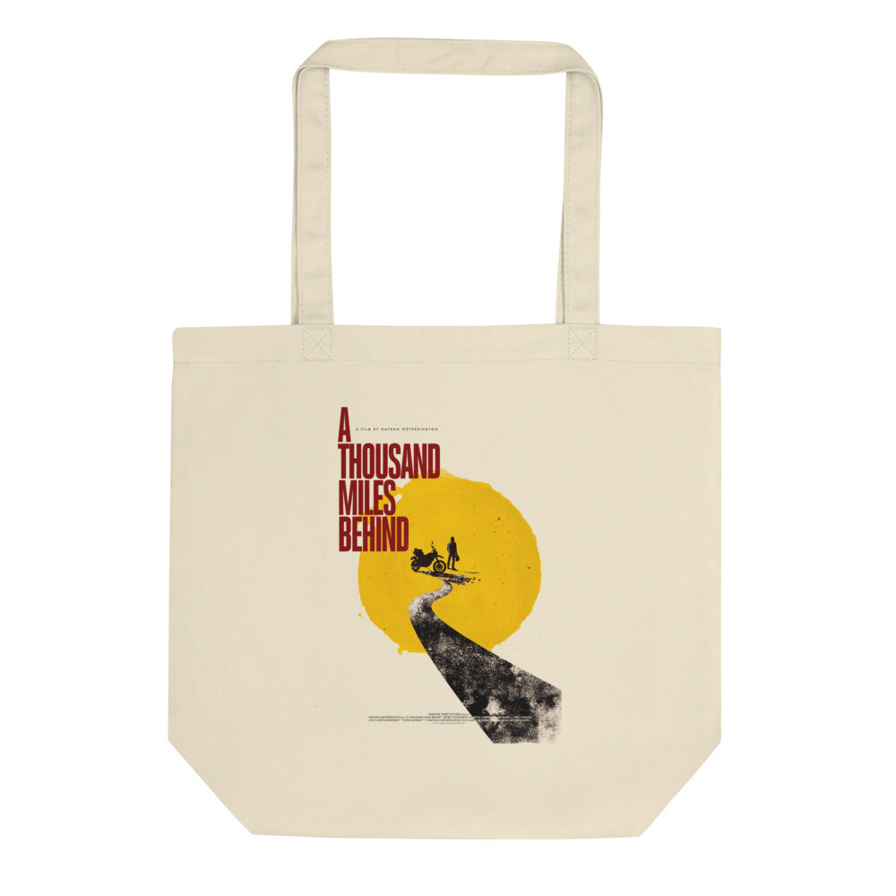 ATMB Retro Graphic Sun Eco Tote Bag