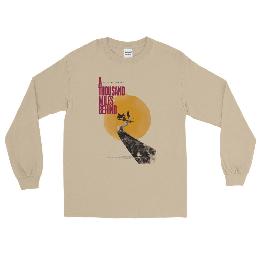 ATMB Retro Graphic Sun Long Sleeve T-Shirt