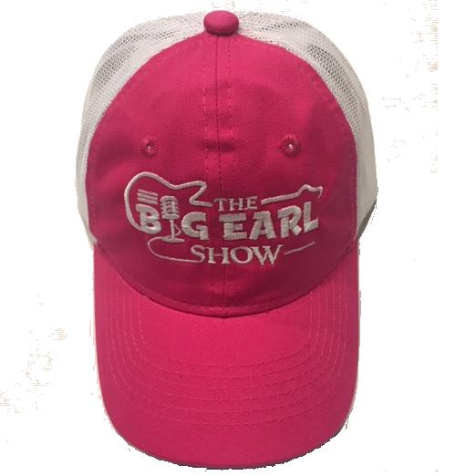Ladies Trucker Hat - Hot Pink