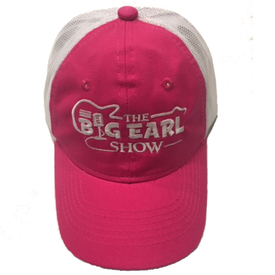 Ladies Trucker Hat - Hot Pink