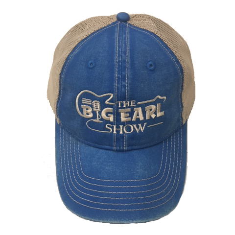 Big Earl Unstructured Hat - Washed Blue
