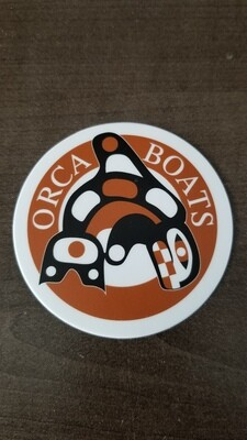 Orca Boats Stickers