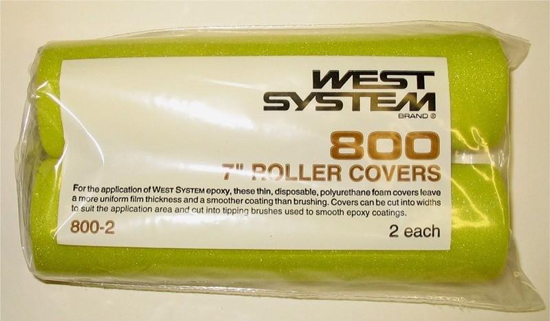 West epoxy foam rollers (2 pack)