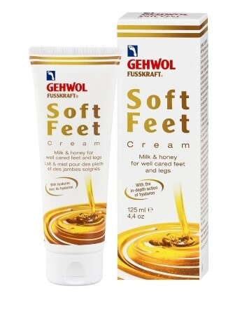 Gehwol Soft Feet Cream With Milk and Honey 125ml