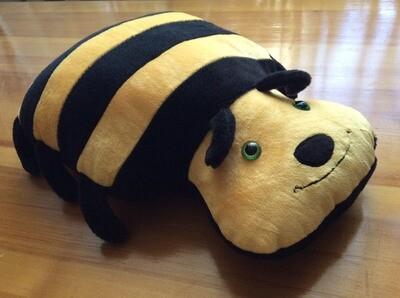 Подушка игрушка, Пчела