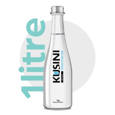 1L Glass Bottled Water Case