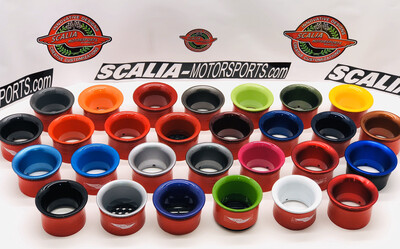 GATTO-55 Aluminum Painted Headlight Intake Rings