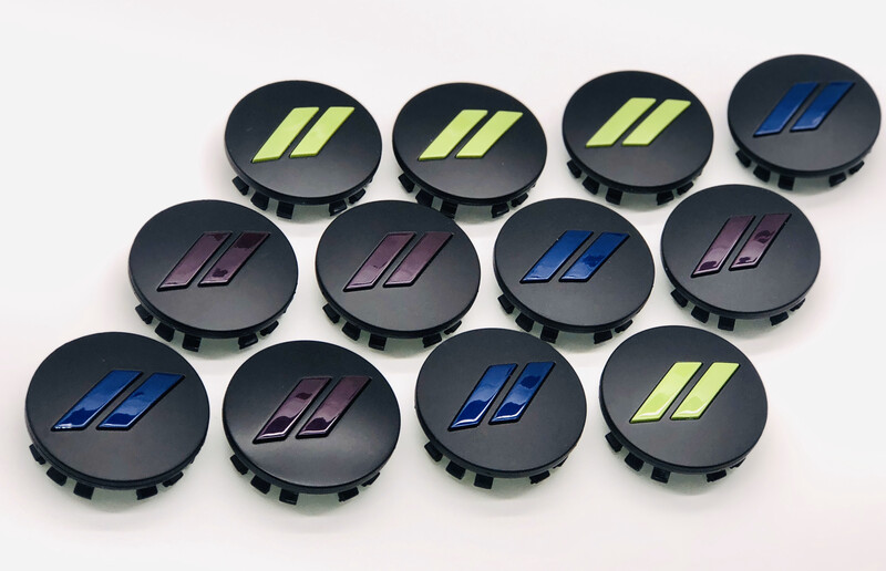 Wheel Center Caps Painted Set Of 4   // or SRT