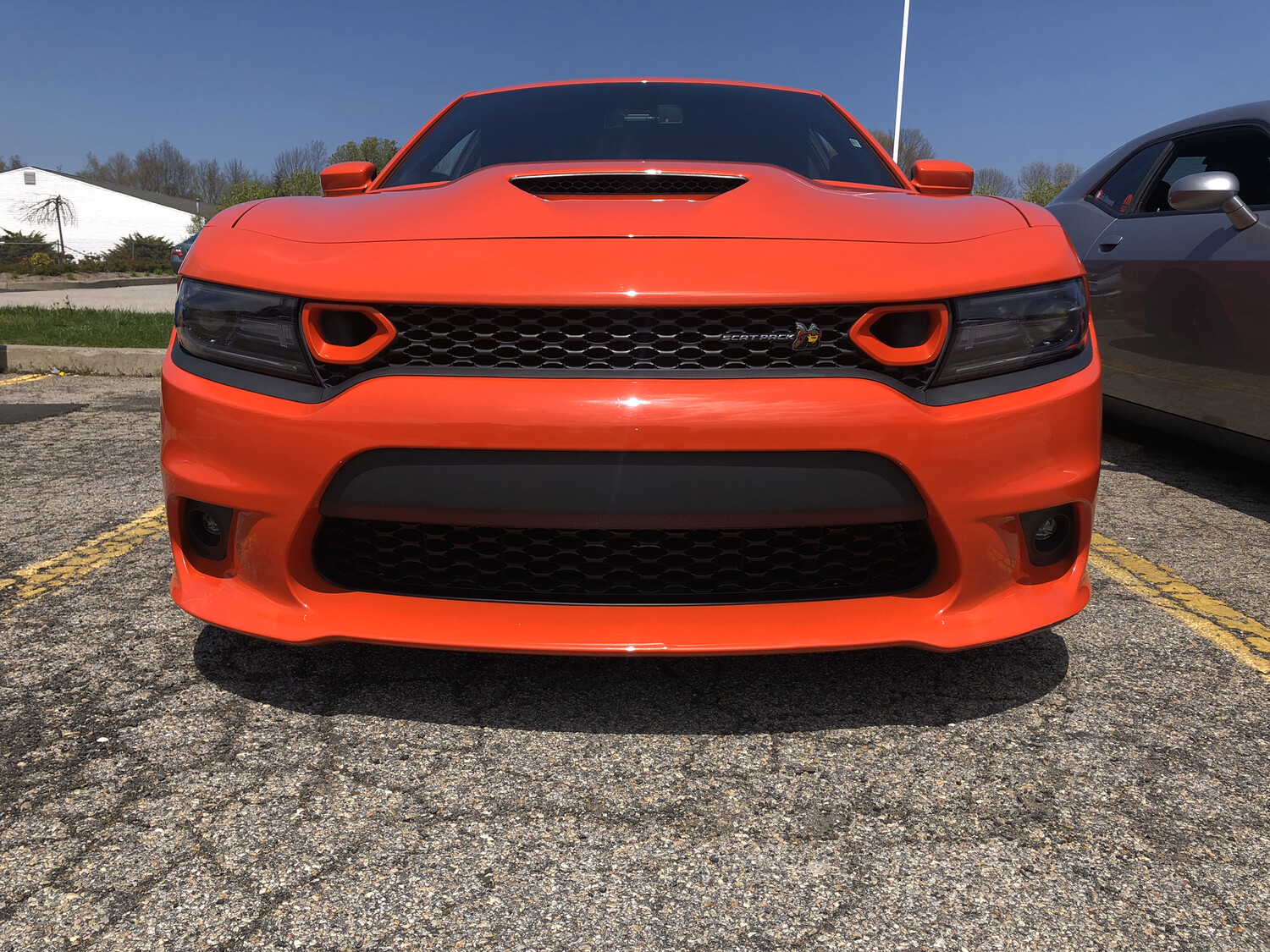 2019-2020 Charger Scat Pack Grill Scoops (Snorkels) Set Of Two
