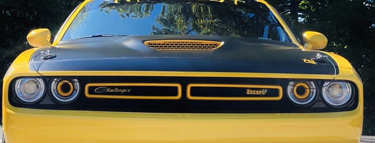 2015-2021 Challenger Inner Grill Covers - Pair
