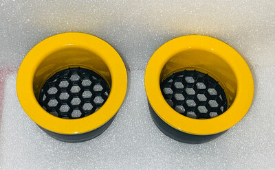 PINKY Headlight Ring Inserts  - Painted