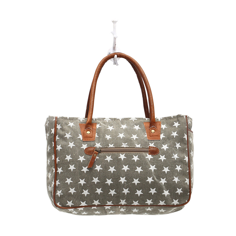 Myra Bag Freedom of Star small bag Leather Canvas