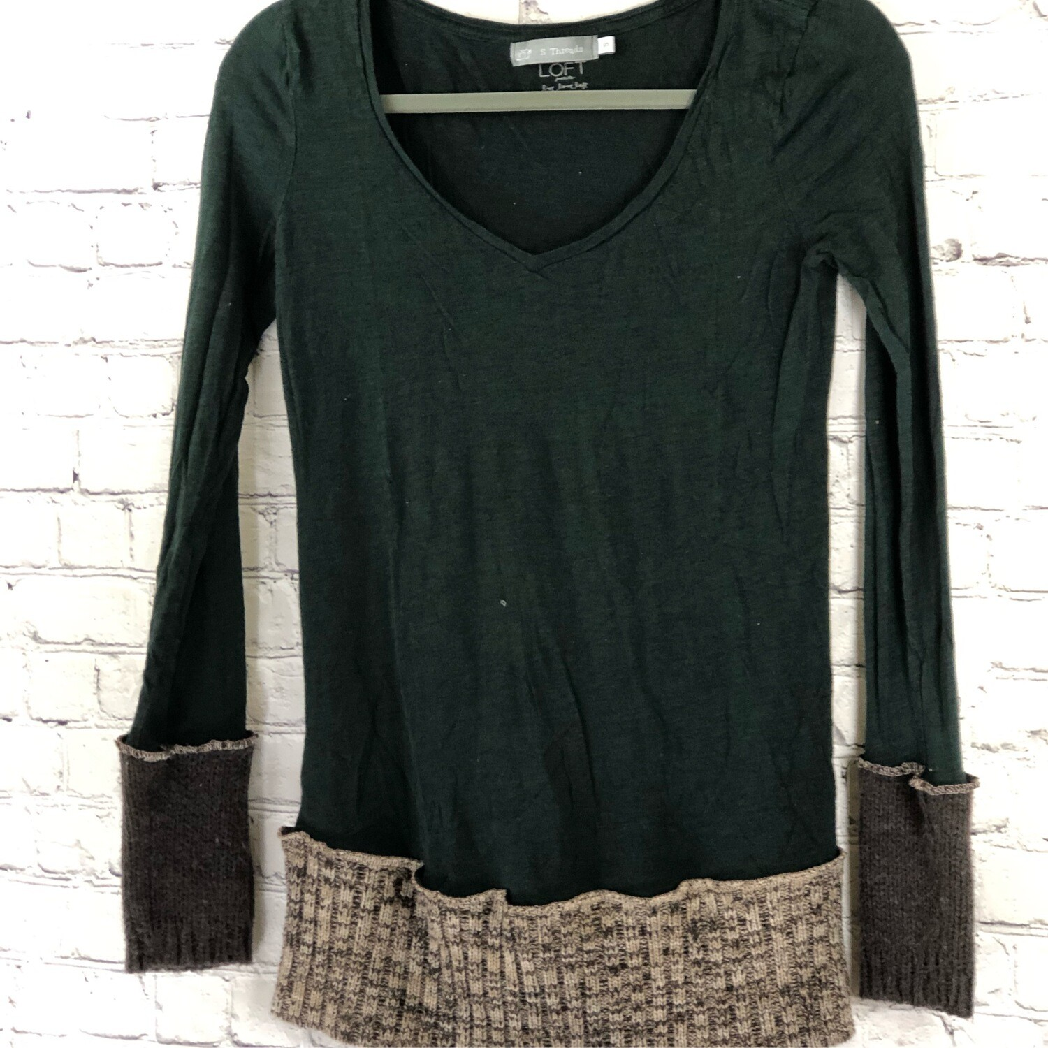 Long Sleeve Recycled Sweater