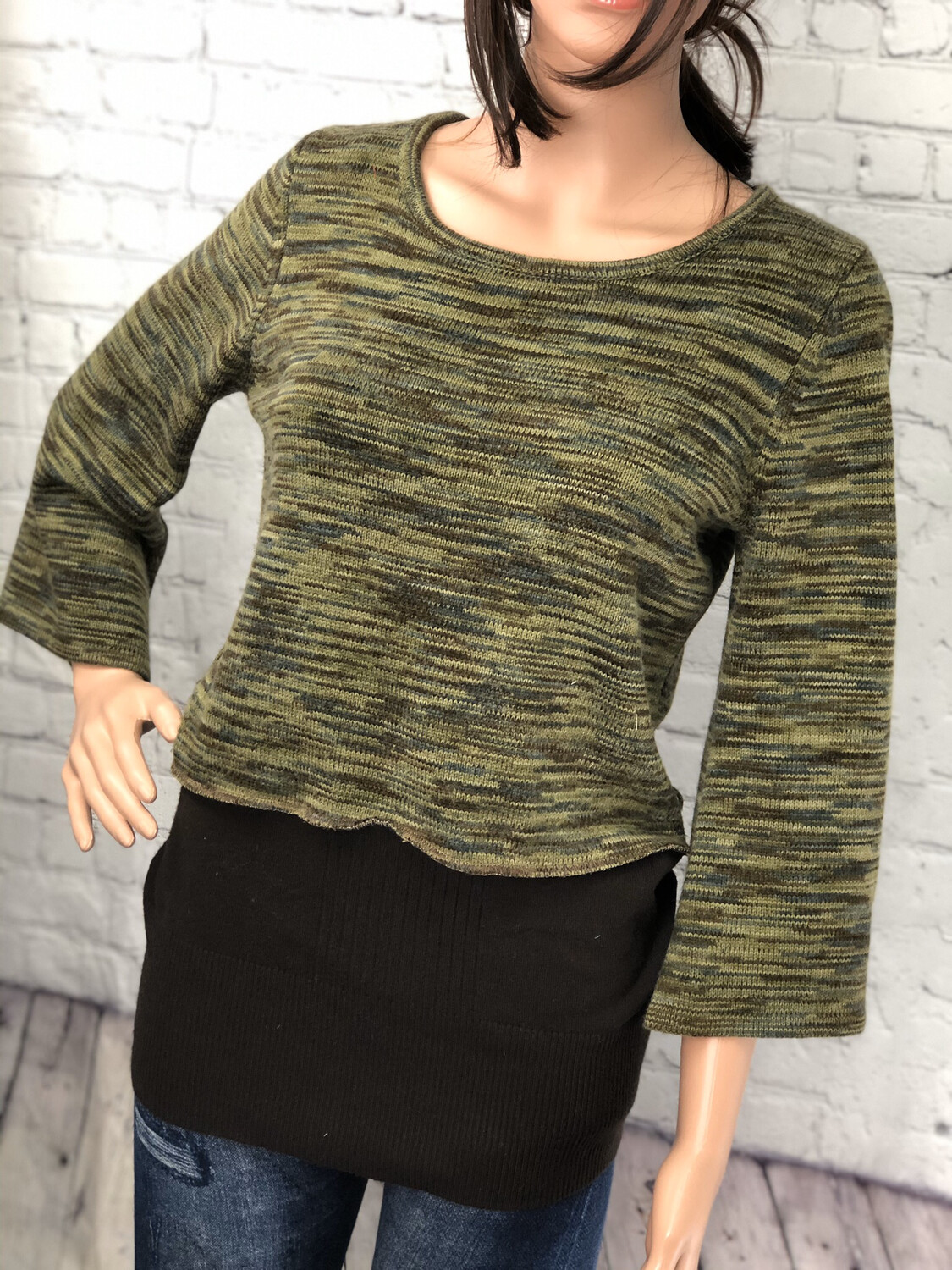 Striped Upcycled Sweater