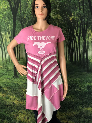 Pink Mustang Dress