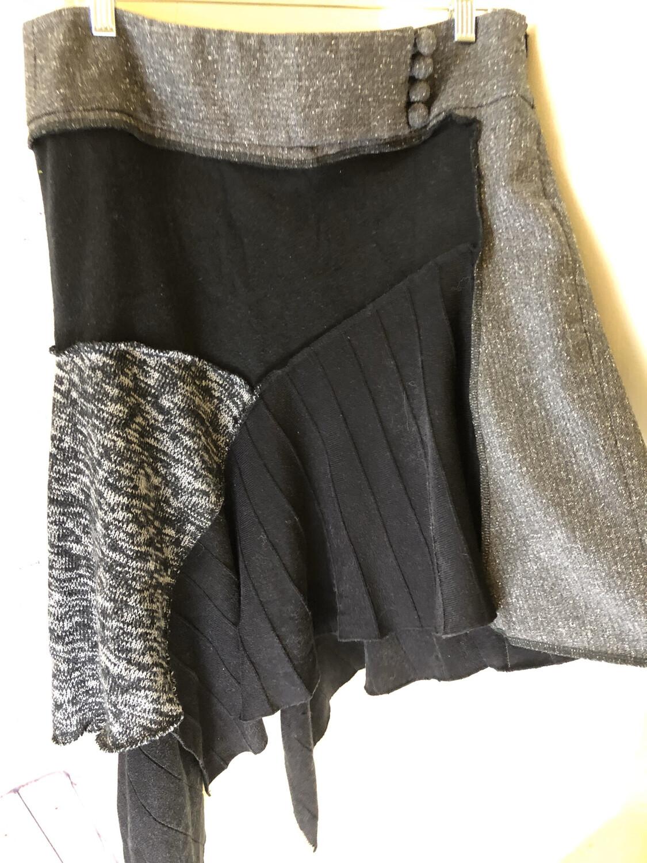Sweater Skirt Upcycled Layer Skirt