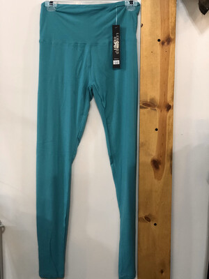 Leggings Jade Solid Color One Size
