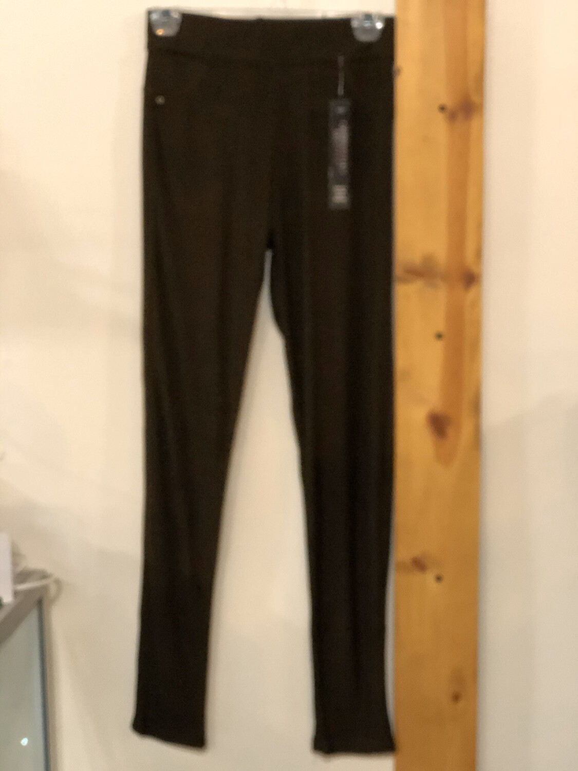 Jeggings Brown Solid Color One Size