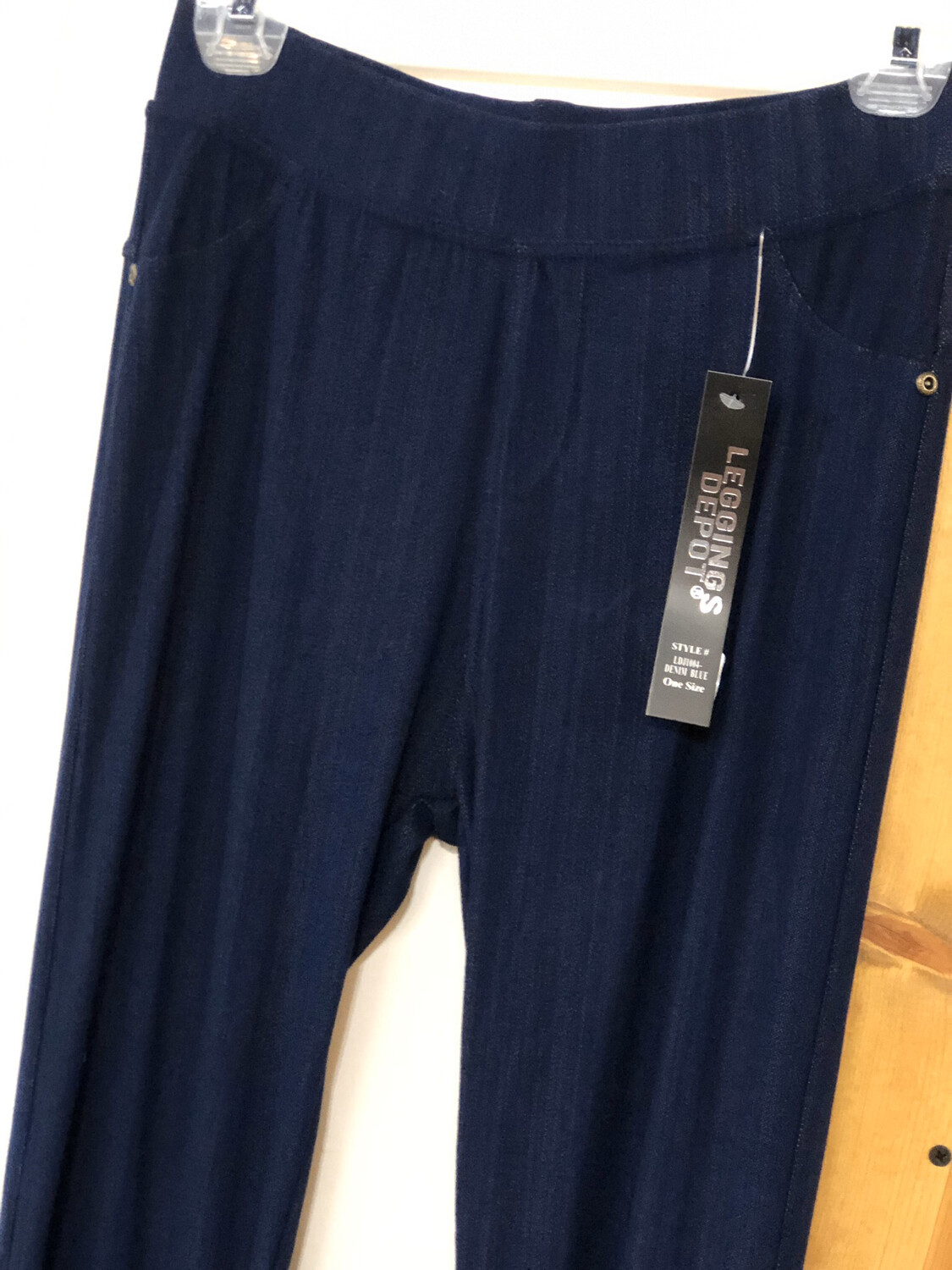 Jeggings Jean Blue Plus Size