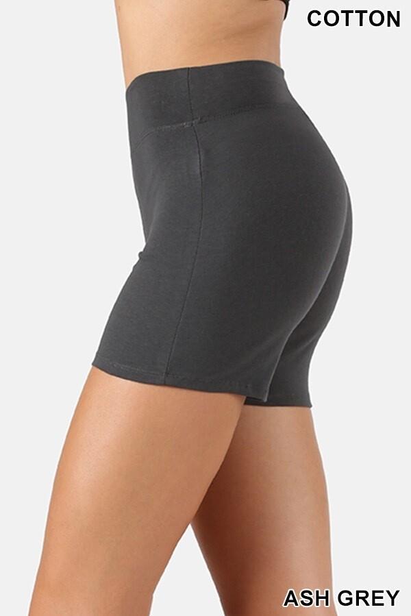 Shorts Cotton Gray