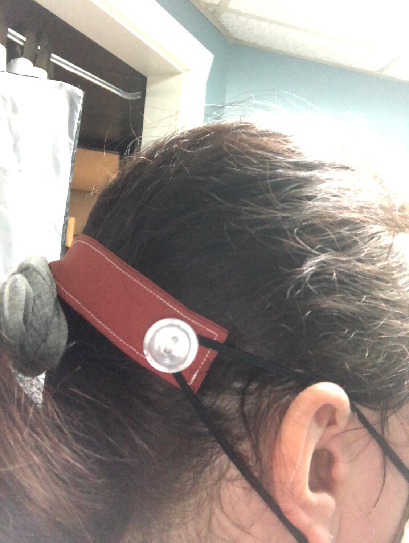 Handmade Face Mask Ear Savers Solid Colors -set