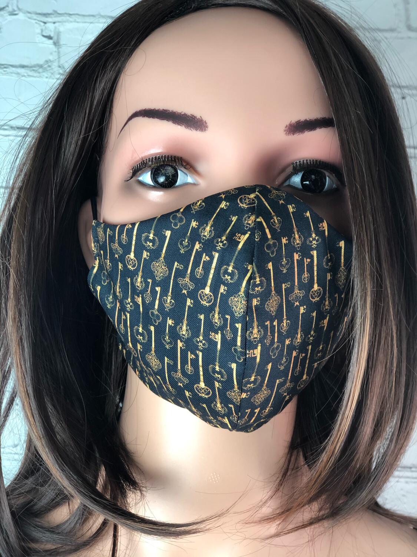 Handmade Face Mask Women's Size Keys