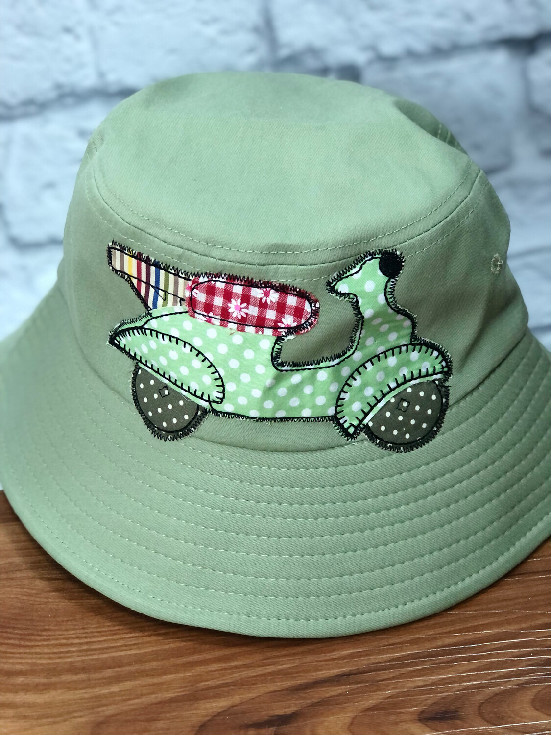 Bucket Hat One Size Green Scooter