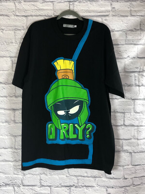 S Threads Upcycled Tshirt O Rly Martian Tee Mens Size XL