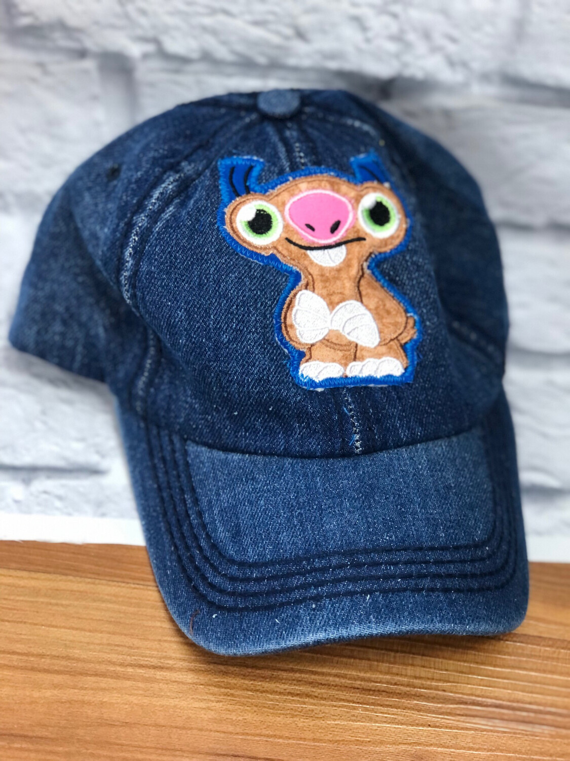Jean Hat Upcycled Sloth OS