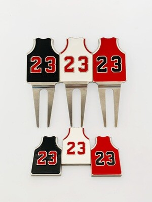 MJ #23 Divot Tool & Ball Markers