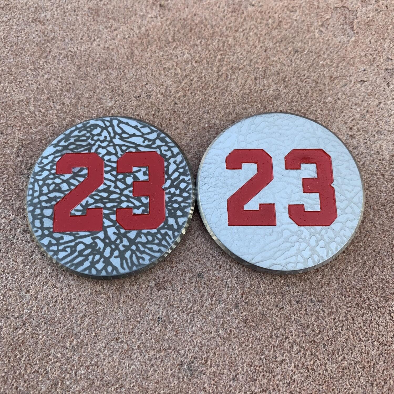 #23 Elephant Print Ball Marker