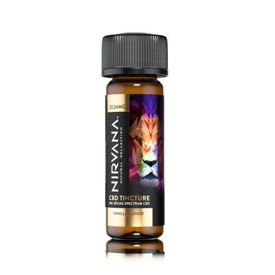 NIRVANA Vanilla 33mg Broad Spectrum Shot (2ml bottle)