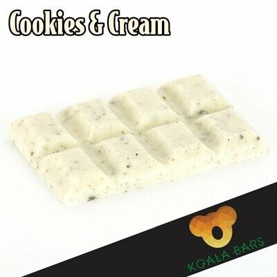 500MG Broad Spectrum Chocolate Bar - Cookies & Cream