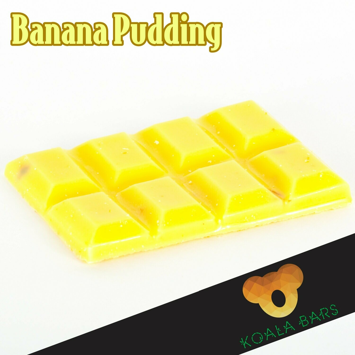 500MG Chocolate Bar - Banana Pudding