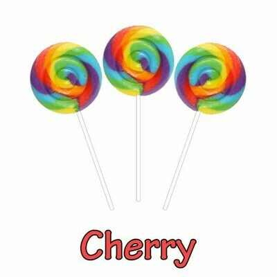 INFUSIONZ 50mg Broad Spectrum Cherry Swirl Lollipop