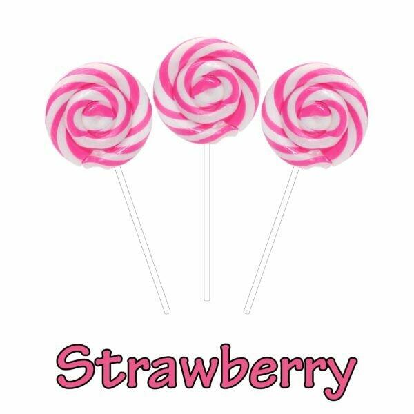 INFUSIONZ 50mg Broad Spectrum Strawberry Swirl Lollipop