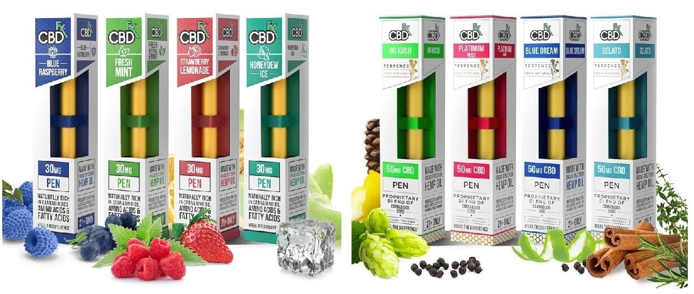 CBDFX 30mg / 50mg Broad Spectrum Pens