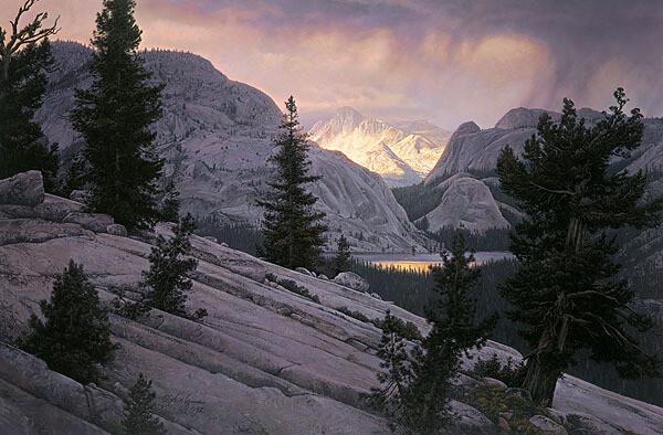 Lake of the Shining Rocks