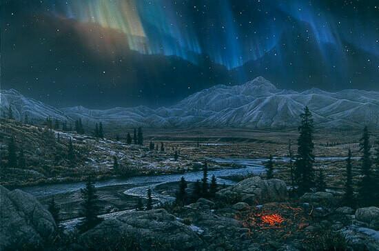 Midnight Fire - Northern Lights
