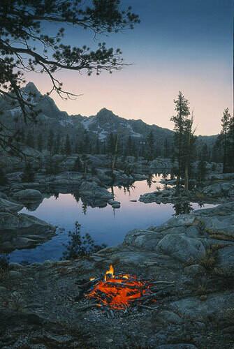 Embers at Dawn - Campfire