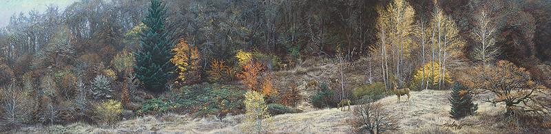 Autumn Gathering - Deer