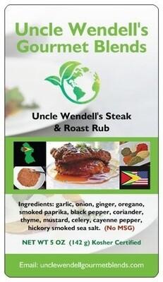 Uncle Wendell's Steak & Roast Rub 5 oz