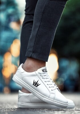 MEKA white shoes - M17