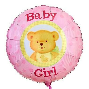 Baby Girl Balloon
