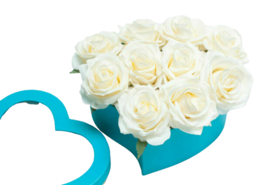 Tiffany Heart Shaped Box