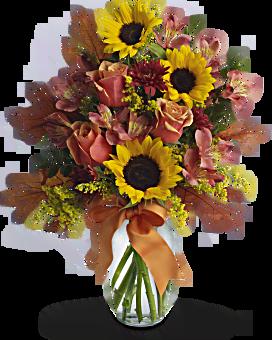 Fall Sunflower Blast