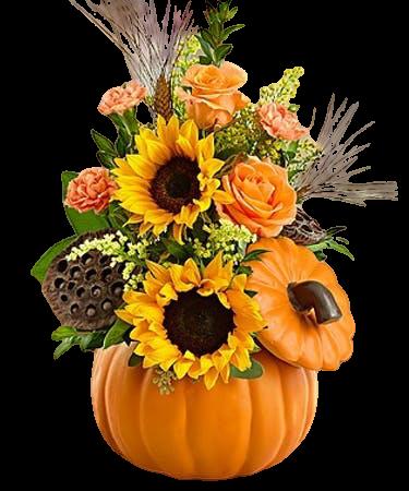 Fall Pumpkin Dish